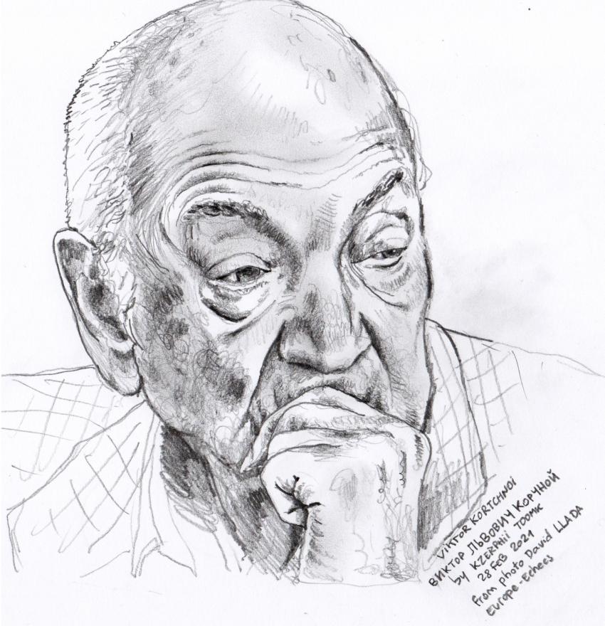 Viktor Kortchnoi par Kzerphii